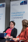 Talking about trust in government, Challenges of Government Conference, Blavatnik School of Government, University of Oxford, May 2016.