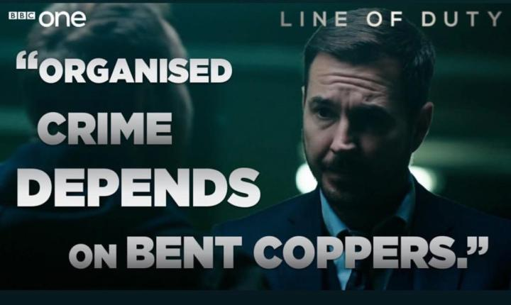 What can Line of Duty tell us about corruption?